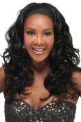 HW45, Beverly Johnson Wig, Express Weave Half Wig Collection, Colour #1 Jet Black