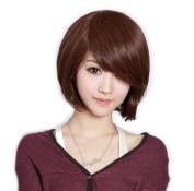Short Light Brown Wig Fashion BOB Wigs JF010391
