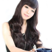 Long Dark Brown Stright & Full Wig/Wigs JF010368
