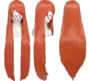 SureWells Fabulous Azrael Black Butler Jacinth Long Straight Cosplay Wig Costume Wigs