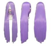 SureWells Fabulous Azrael Black Butler Light Purple Long Straight Cosplay Wig Costume Wigs