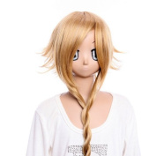 70cm inch Cosplay wig Cosplay Wig Party wig SOUL EATER Medusa long shine brown wig cosplay wig Costume wig for party