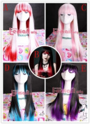 65-70cm long 5 styles Straight Beauty Cosplay Girl Hair Wig CB23-D