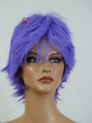 Epic Cosplay Apollo Purple Short Wig 33cm