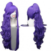 Long Purple Curly Wave Cosplay Wig Vocaloid Series Costume Wigs lacefront wig party wig Lacefront Wig