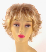 Short Honey Blonde Wig - Quality Kanekalon Synthetic Hair Loss Replacement Natural Looking Fashion for Ladies & Girls