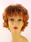 Short Strawberry Blonde Wig - Quality Kanekalon Synthetic Hair Loss Replacement Natural Looking Fashion for Ladies & Girls