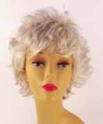 Short White Wig - Quality Kanekalon Synthetic Hair Loss Replacement Natural Looking Fashion for Ladies & Girls