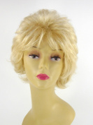 Short Platinum Blonde Wig - Quality Kanekalon Synthetic Hair Loss Replacement Natural Looking Fashion for Ladies & Girls