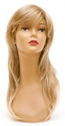 Long Honey Blonde Wig - Quality Kanekalon Synthetic Hair Loss Replacement Natural Looking Fashion for Ladies & Girls