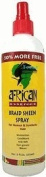 African Essence Braid Sheen Spray - 350ml Spray