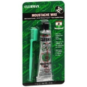 PINAUD MOUSTACHE WAX BLACK 1 per pack by A.I.I. CLUBMAN ***