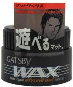 Gatsby Wax Mat Type Hair Styling Wax 80ml