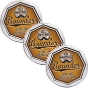 Bounder Extra Firm Moustache Wax Triple Pack
