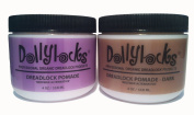 "Dollylocks 120ml Dreadlock ""Beeswax Alternative"" Pomade - Light"