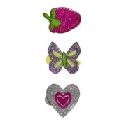 Carter's 3-pack glitter hair clips