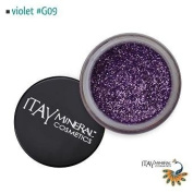 Itay Beauty Mineral cosmetic face and body glitter Colour Violet G09