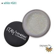 Itay Beauty Mineral cosmetic face and body glitter Colour White G01