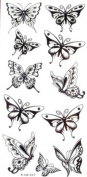 YiMei Fake small butterfly temporary tattoos