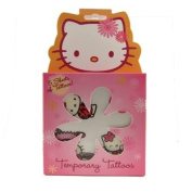 1x Licenced Hello Kitty Temporary Tattoos with 5 sheets