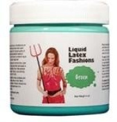 Ammonia Free Liquid Latex Body Paint - 120ml Green