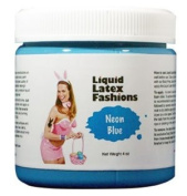 Ammonia Free Liquid Latex Body Paint - 120ml Neon Blue