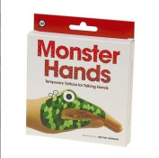 Monster Hands Temporary Talking Hands Tattoos