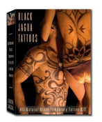Earth Henna Earth Jagua Black Body Painting Kit Body Painting Kit