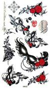 Kinghorse Striking Designed Temporary Tattoo Waterproof Stickers for Women for Sweetheart Waterproof
