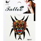 GGSELL Hot selling waterproof colour tiger head temporary tattoos