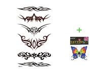 King Horse Beautiful personalised fashion tattoo stickers sexy totem waterproof tattoo stickers