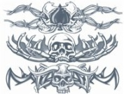 Metal Bands Temporary Tattoo