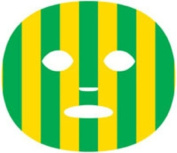 The Gameface Company Sport Face Stripe Green and Gold Team Temporary Tattoo Sticker