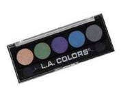 L. A. Colours 5 Colour Metallic Eyeshadow