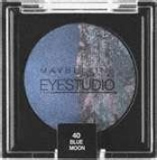 Maybelline New York Eye Studio Colour Pearls Marbleized Eyeshadow (Limited Edition) 40 Blooming Blue, 5ml