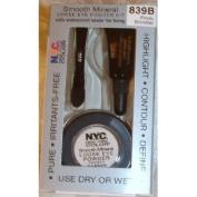 N.Y.C. Smooth Mineral Loose Eye Powder Kit Frosty Shimmer 839B