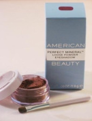 American Beauty Perfect Mineral Loose Powder Eyeshadow Majestic Plum