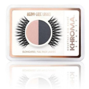 Khroma Beauty - Kourtney, Kim, Khloe Kardashian Heavy Gaze Lashes and Eye Shadow