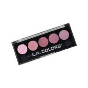 LA Colours 5 Colour Metallic Eye Shadow Palette 434 Wine and Roses