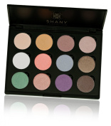 SHANY Summerly Eyeshadow Palette (12 Colours Combination Palette with Large Pans, Limited), 270ml