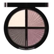 Signature Eyeshadow Quad Palette W/ Mirror Compact - Fashionista