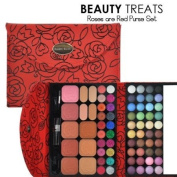 Beauty Treat Roses Are Red Purse Makeup Set
