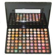 New 88 Colours Rock Metallic Eye Shadow Makeup Cosmetic Palette Smoky Hipster Look