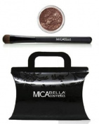 "Micabella Mineral Eye Shadows #230cm Diligence"" + Oval Eye Brush + Gift Box +A-viva Magic Nail Buffer Gift"