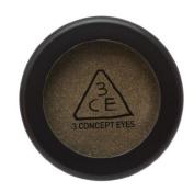KOREAN COSMETICS, Style NANDA_ 3 CONCEPT EYES, ONE colour SHADOW (SHIMMER.T) # COWBOY (3.5g, . bronze khaki eye shadow, soft pearls) [001KR]
