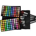 120 Colour Eyeshadow(#2 ARTIST favour) + 12 pcs Black Brush Set CODE