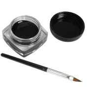 Long Lasting Eyeliner Curd Gel With Brush For Cosmetics Makeup