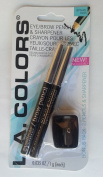 LA Colours Eyeliner/Brow Pencil with sharpener, BPN451 Black, 0ml