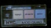 New York Colour Mod Quad Creme Liner & Eyeshadow 859b Peace-ful Pastels
