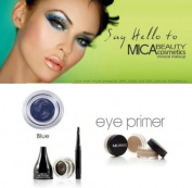 Mica Beauty Cosmetics Mineral Makeup Gel Eyeliner Blue + Eye Primer + Aviva Eco Nail File